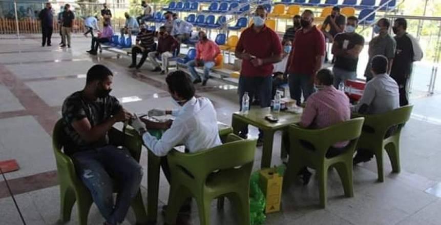 الوطن سبورت   مركز شباب الجزيرة يجري تحاليل طبية للعاملين ...