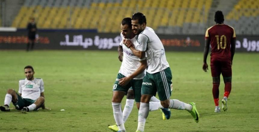 المصري يحقق 13 رقما جديدا بعد الفوز على المقاصة