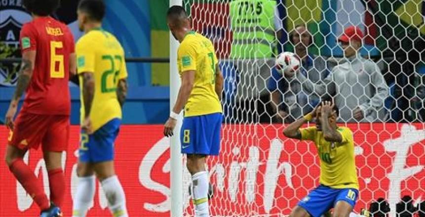 حسرة برازيلية فرحة بلجيكية بعد تأهل الشياطين الحمر على حساب السامبا لنصف النهائي