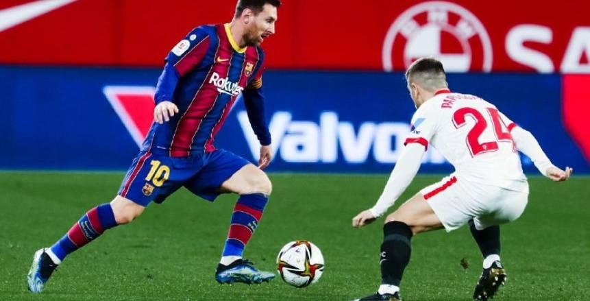 موعد مباراة برشلونة ضد إشبيلية والقنوات الناقلة لها