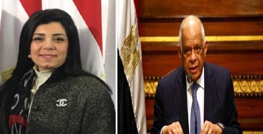 علي عبد العال يُهنئ جهاد عامر على توليها منصب نائب رئيس اللجنة المنظمة لأمم أفريقيا