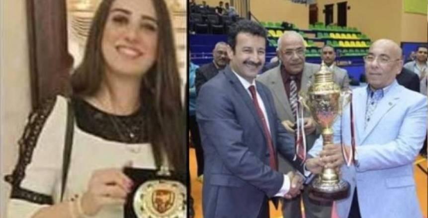 منطقة القاهرة للكاراتيه تُكرم ندى محمود