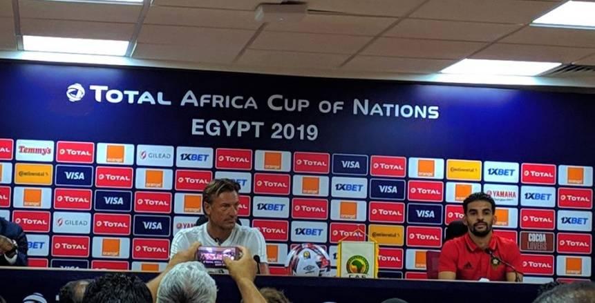 مبارك بوصوفة: مصر فعلت كل شيء لإنجاح أمم أفريقيا.. الملاعب رائعة