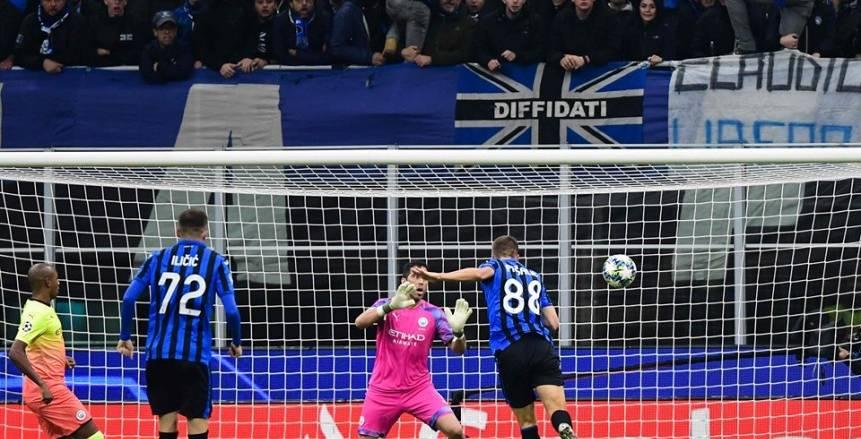 مانشستر سيتي يتعادل أمام أتالانتا 1/1 في دوري أبطال أوروبا