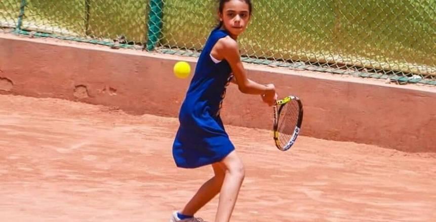 """زينة تحرز لقب الجولة الأولى من بطولة """"ماراثون 11"""" للتنس"""