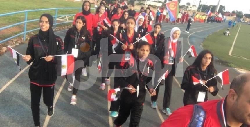 بالصور| حفل افتتاح دورة ألعاب حوض النيل برواندا بمشاركة مصر