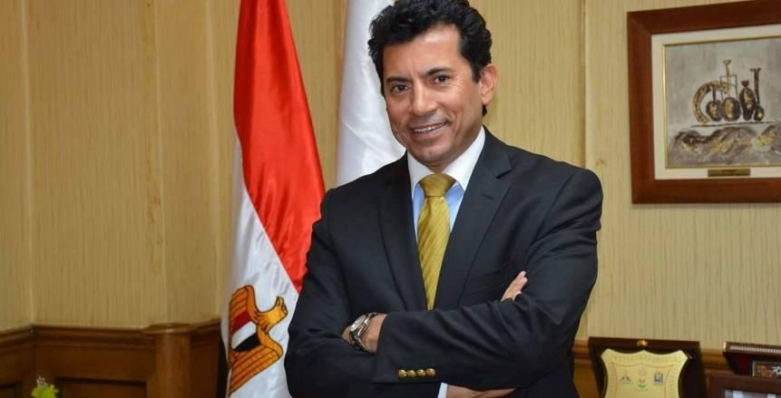 وزير الرياضة: وصول 3 فرق مصرية لنهائيات بطولتي إفريقيا أمر مشرف