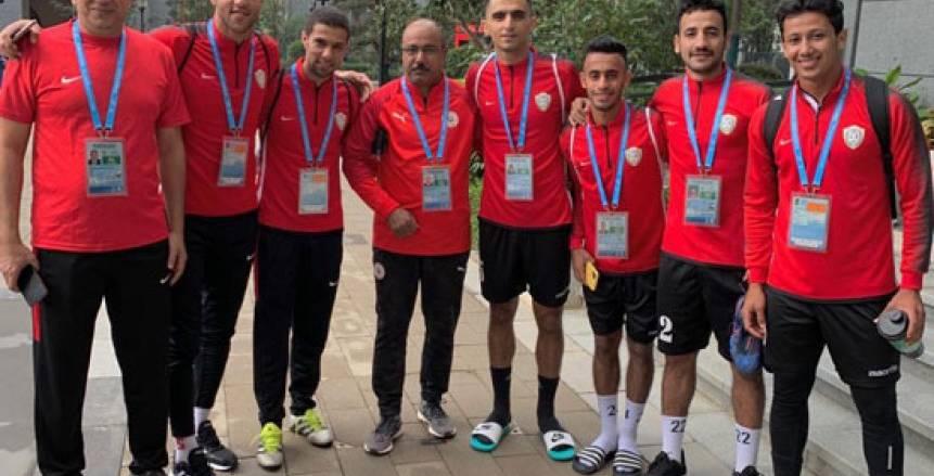 المنتخب العسكري يبدأ الاستعداد لمواجهة قطر في كأس العالم
