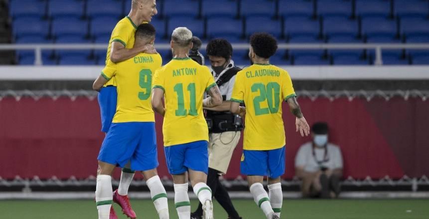 البرازيل تسحق ألمانيا برباعية في أولمبياد طوكيو «فيديو»