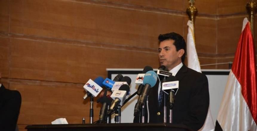 وزير الرياضة: نسعى لتوسيع قاعدة الممارسة بالتنسيق مع الاتحادات الرياضية