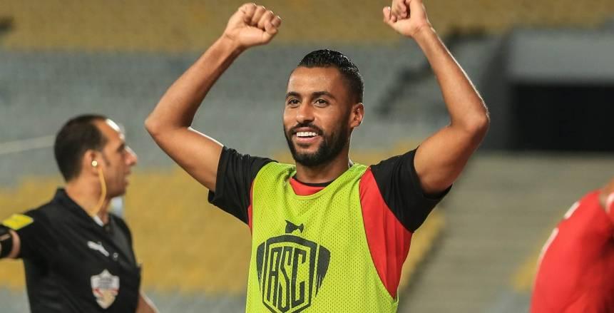 حسام عاشور عن لقب الأكثر تتويجًا بالبطولات: مش عارف ألحق داني ألفيس