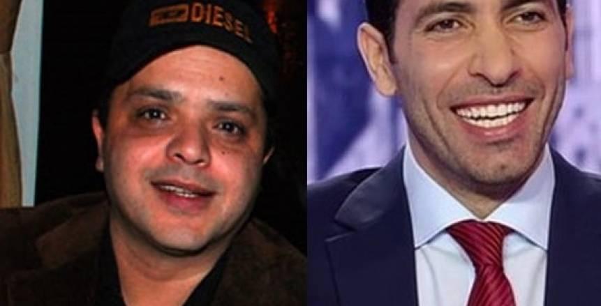 بالصور| «هنيدي» لمحمد أبو تريكة: «ترجع بالسلامة يا حبيب الناس»
