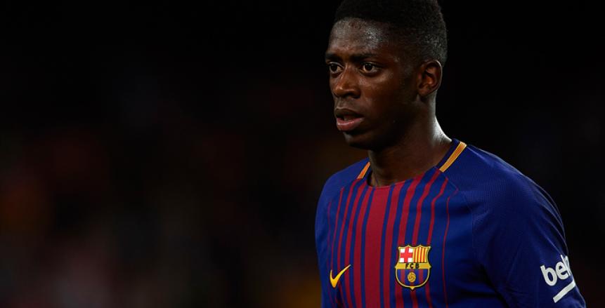 برشلونة يستأنف على عقوبة ديمبيلي بعد إيقافه مباراتين