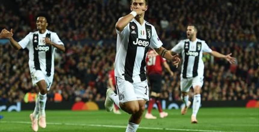 بالفيديو| يوفنتوس يتقدم على مانشستر يونايتد بهدف في الشوط الأول