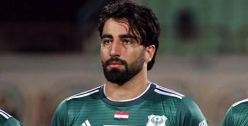 لاعب المصري عن رفع علم فلسطين في مباراة اليوم: احترم قرار علي ماهر