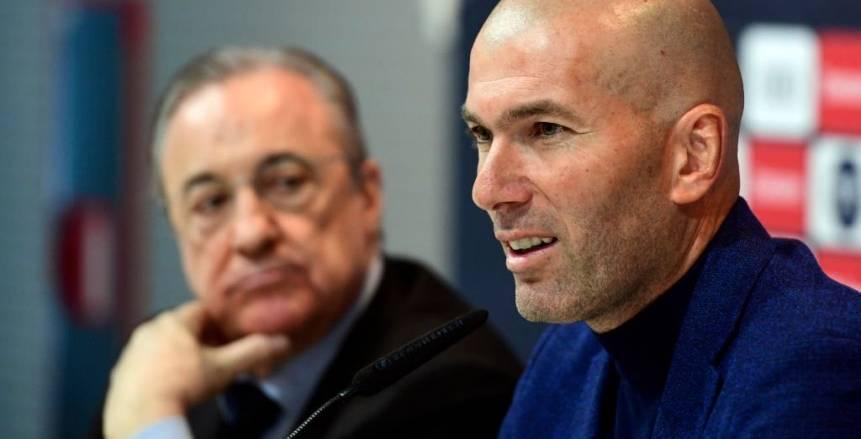 «زيدان»: «بيريز» السبب في عودتي  لـ«ريال مدريد».. وهدفنا عودة الفريق لمكانه الصحيح