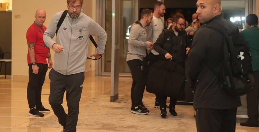 ليفربول يصل قطر للمشاركة في مونديال الأندية (صور)