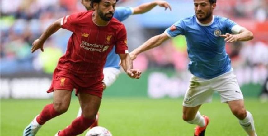 عاجل.. ليفربول ينهار بالثلاثة أمام السيتي في الشوط الأول.. وصلاح يهدر 3 أهداف
