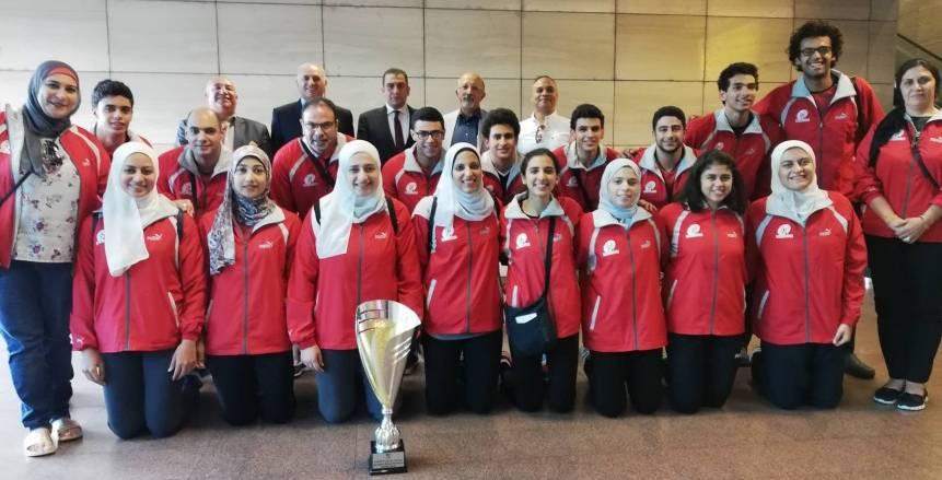 الاتحاد المصري لكرة السرعة يستعيد كأس العالم من فرنسا بعد نسيانها
