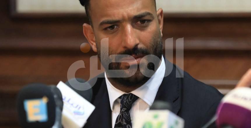 مؤتمر تقديم أحمد حسام ميدو مديرًا فنيًا لمصر المقاصة