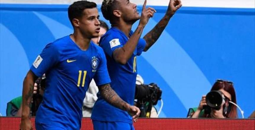 صور مباراة البرازيل وكوستاريكا