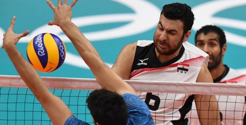 """""""طائرة"""" مصر تودع الأولمبياد بالخسارة أمام الأرجنتين"""