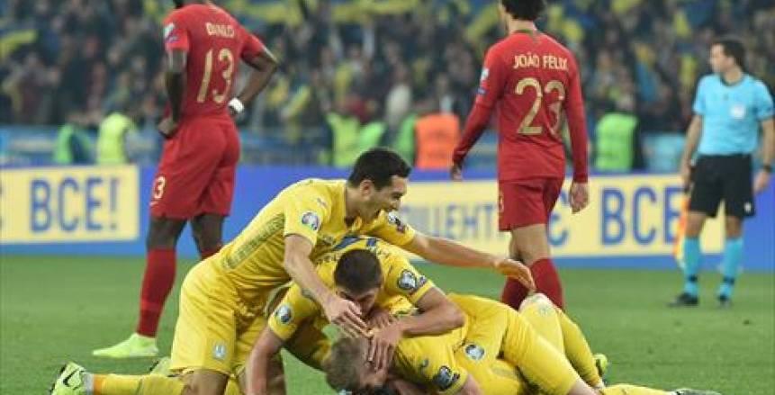 بالفيديو.. أوكرانيا تصعق البرتغال وتتأهل ليورو 2020