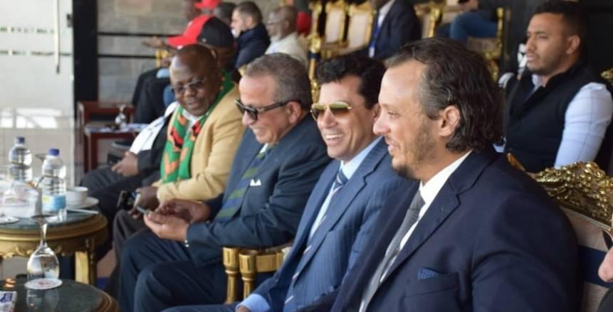 وزير الرياضة يهنئ بيراميدز بالصعود للدور نصف النهائي بكأس الكونفدرالية الأفريقية