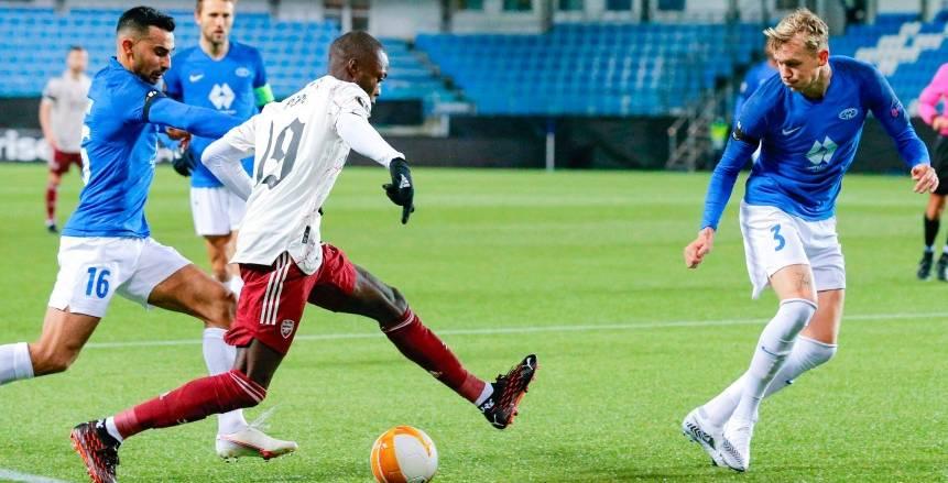 بيبي يقود أرسنال للتأهل بثلاثية ضد مولده.. وتعادل ميلان مع ليل (فيديو)