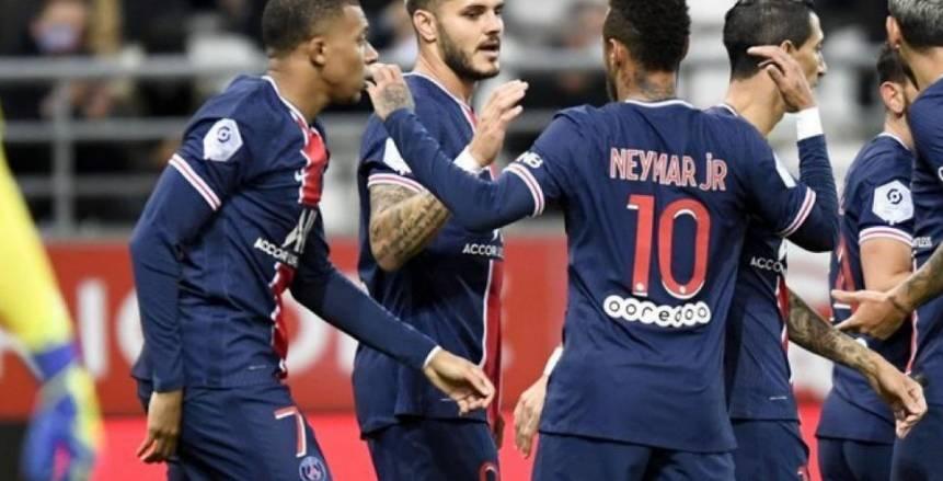 باريس سان جيرمان يكتسح رين بثلاثية في الدوري الفرنسي
