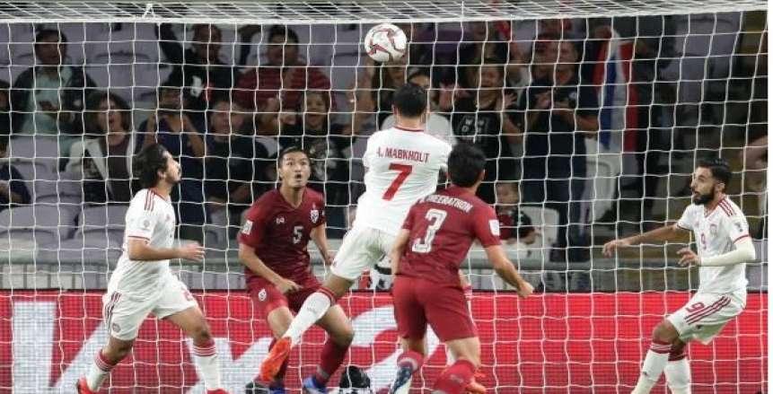 أمم أسيا| بالفيديو.. الإمارات وتايلاند إلى ثمن نهائي كأس آسيا بالتعادل 1\1