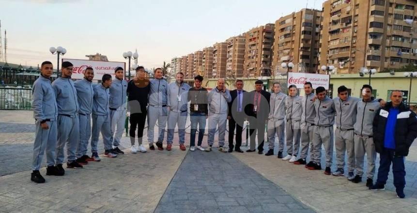 منتخب ليبيا لليد يزور نادي المصري