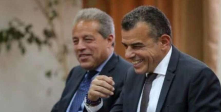 مرتجي والجارحي ينضمان رسميا إلى قائمة الخطيب في انتخابات الأهلي
