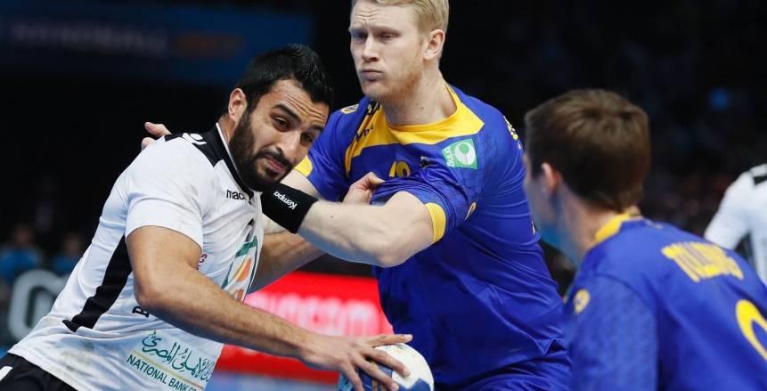 مباراة مصر والسويد بكأس العالم لكرة اليد 2017