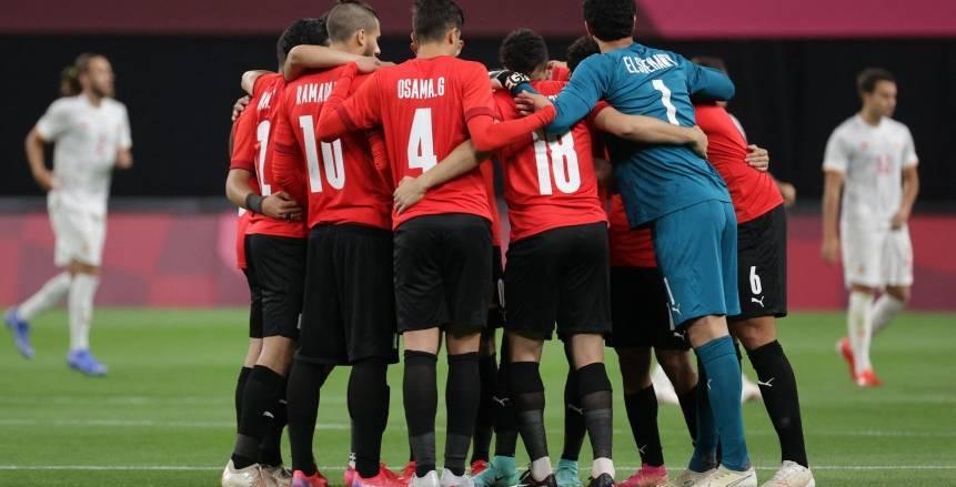 فرص صعود منتخب مصر الأولمبي بعد نتيجة مباراة إسبانيا وأستراليا