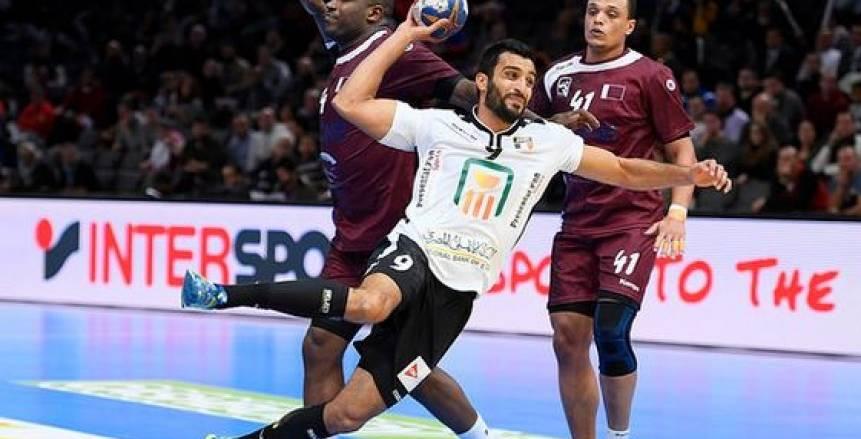كرة يد  اسلام حسن يحصد لقب أفضل لاعب في مباراة مصر والمغرب