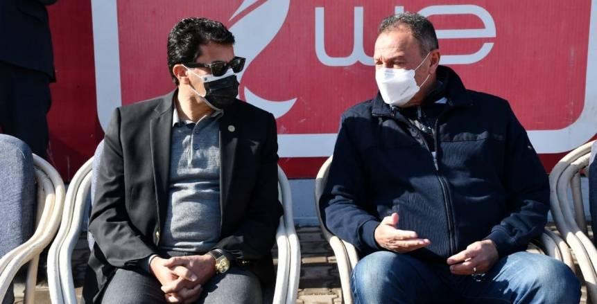 وزير الرياضة يطمئن على بعثة الأهلي بالمغرب قبل نهائي دوري الأبطال