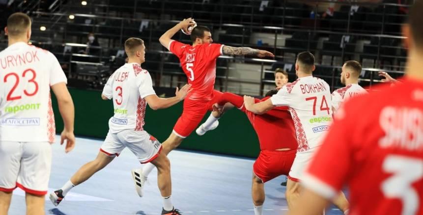 منتخب روسيا يتعادل أمام بيلاروسيا 32-32 بـ مونديال العالم لكرة اليد