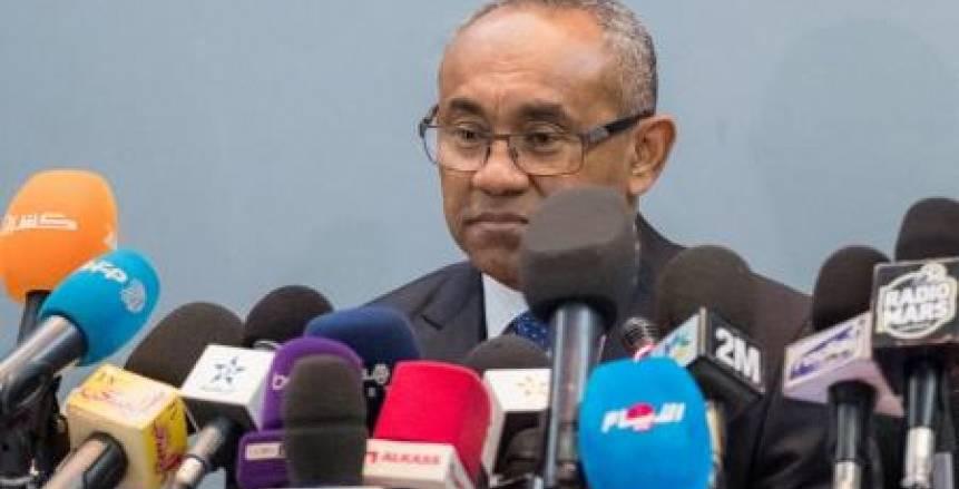 """رئيس كاف: مصر حققت إنجازا ضخما في تنظيم """"كان 2019"""""""