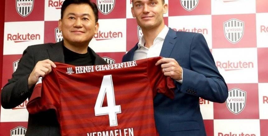 مدافع برشلونة السابق ينضم إلى فيسيل كوبي الياباني
