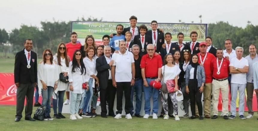 """""""الجولف"""" يكرم منتخبي الناشئين والسيدات على نتائج البطولة العربية"""