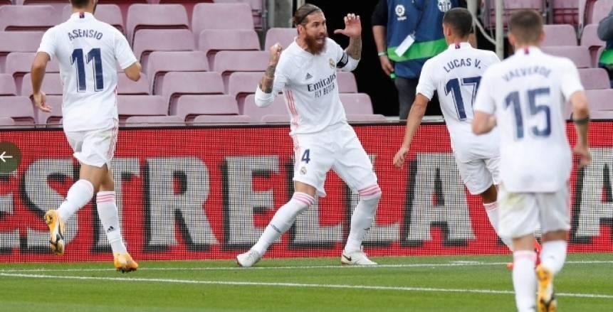 راموس يقود قائمة ريال مدريد لمواجهة فالنسيا بالدوري الإسباني