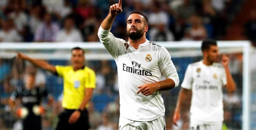 كارفخال يغيب عن ريال مدريد في الكلاسيكو بسبب الإصابة