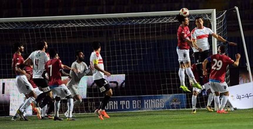 طاقم حكام روماني لمباراة الزمالك وبيراميدز في نهائي كأس مصر
