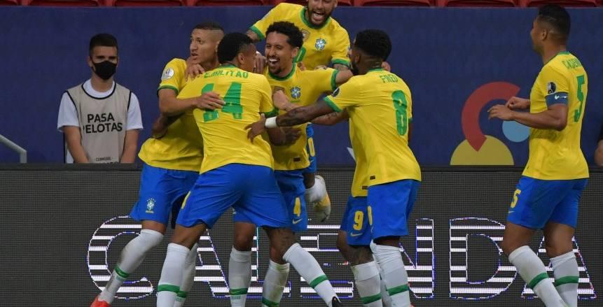 منتخب البرازيل يتصدر مجموعته في كوبا أمريكا.. السامبا على طريق اللقب