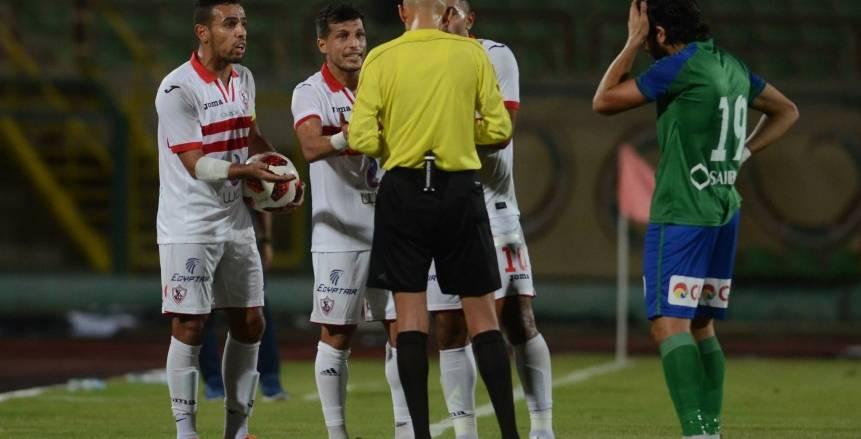 كواليس مباراة الزمالك ومصر  المقاصة في الدوري الممتاز