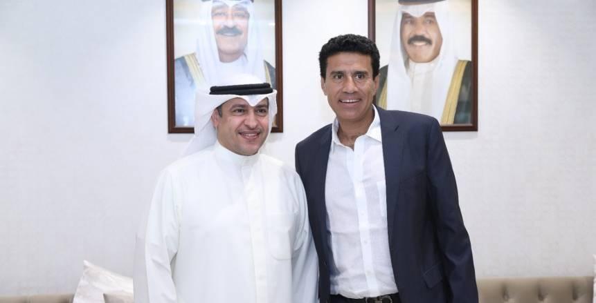 وجيه يبحث مع مدير هيئة الرياضة تفعيل حجم البطولات العربية