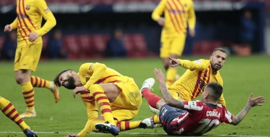 تقارير إسبانية: بيكيه يغيب عن برشلونة لـ 6 أشهر بسبب الإصابة