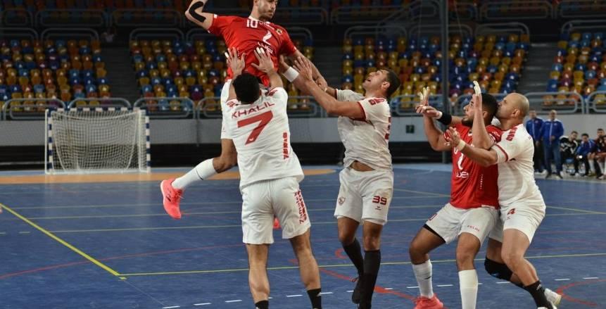 مواجهة مرتقبة بين الأهلي والزمالك لتحديد بطل دوري المحترفين لكرة اليد