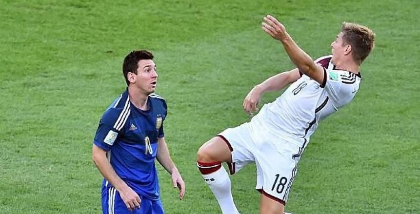 ألمانيا تستضيف الأرجنتين في مباراة الغيابات والنزاعات
